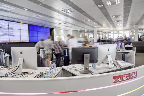 Ringier Journalisten Newsroom